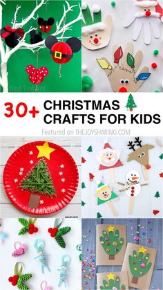 Simple Christmas crafts and activities for kids. quick and easy Christmas activities for kids. Simple Christmas arts and crafts ideas for kids of all ages. DIY Christmas decorations and handmade Christmas gifts ideas for kids. Arts And Crafts For Teens, Christmas Crafts For Toddlers, Art And Craft Videos, Christmas Crafts For Kids To Make, Preschool Christmas, Handmade Christmas Gifts, Preschool Crafts, Diy Crafts For Kids, Holiday Crafts