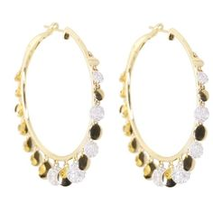 14kt gold mix diamond disk hoops – Luna Skye ($3,100) ❤ liked on Polyvore featuring jewelry, earrings, yellow gold earrings, diamond hoop earrings, gold hoop earrings, gold jewelry and luna skye jewelry