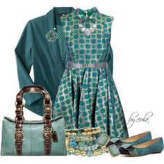 """""""Turquoise Shoes Contest"""" by eula-eldridge-tolliver on Polyvore"""