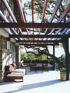 open air patio. one can dream.