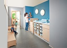 Avec Haba, aménager votre espace de change devient un jeu d'enfant
