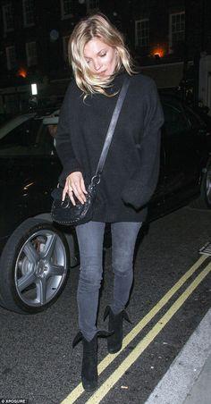 Kate Moss, Oct. 2014.