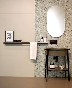 ° THE_K Ulsan interior, apartment interior using terrazzo … Bathroom Furniture, Bathroom Interior, Modern Bathroom, Kitchen Furniture, Bad Inspiration, Bathroom Inspiration, Terrazzo, Lavatory Design, Bathroom Remodel Cost