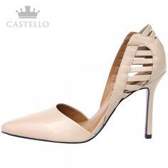 Scarpin Nude - Sapatos Femininos http://viroutendencia.com/2014/12/04/como-usar-scarpin-no-verao/