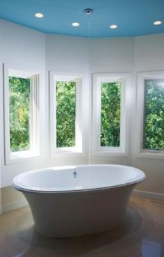 @Anna Ric    Freestanding tub (filled from ceiling)