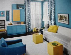 60s decor by look homeward harlot via flickr
