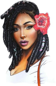 We have the internets best collection of Ankhs, Ancient Egyptian, and African fashion products. Coupled with the Worlds Most Enlightening Newsletter. Black Love Art, Black Girl Art, My Black Is Beautiful, Black Girls Rock, Art Girl, Beautiful Goddess, Natural Hair Art, Pelo Natural, Natural Hair Styles