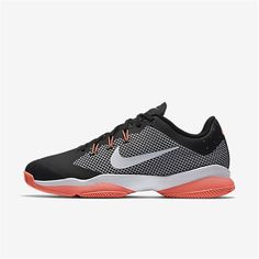 431f8c8a86 NikeCourt Air Zoom Ultra (Black   Lava Glow   White) Kd Shoes