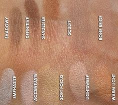 MAC Cosmetics - Sculpt & Shape Review, Swatches, Product Photos