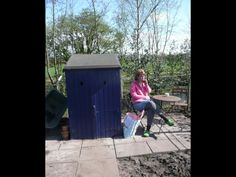Still the old shed on our allotment