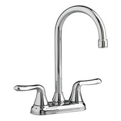 American Standard Colony Soft 2-Handle Bar Faucet in Polished Chrome-2475.500.002 at The Home Depot