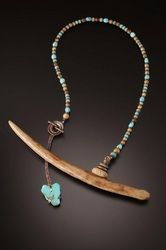 """""""Journey Home"""" seal oosik & turquoise.  Chris Carlson."""