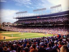 Wrigley Field, the friendly confines.