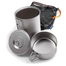 Snow Peak Titanium Mini Solo Cookset.... ** See more at the image link