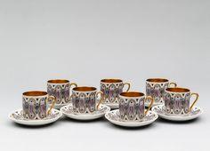 Mokka-astioita, ARABIA, Zaida, 1960-luku. Finland, History, Tableware, Historia, Dinnerware, Tablewares, Dishes, Place Settings