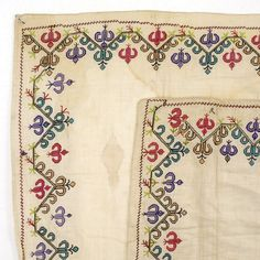 Lot of three Embroidered Covers by Crimean Tatar.