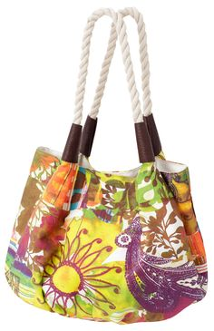 Multicol beach bag is an explosion of colors!