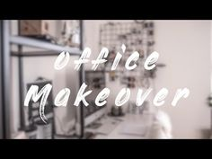 Office Makeover - YouTube Final Cut Pro, Office Makeover, Eos, Neon Signs, Instagram, Interior, Youtube, Indoor, Interiors
