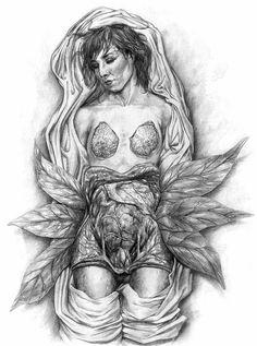 Elizabeth Shaw Alien Covenant Concept Art by Matt Hatton