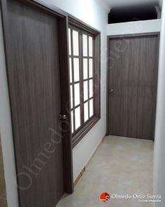 Remodelando tu hogar 🏡 Diseñamos y fabricamos tu puertas y ventanas en madera 🚪 Cali, Colombia 🇨🇴 Cali Colombia, Divider, Room, Furniture, Home Decor, Bathroom Doors, Front Entrances, Cabinets, Windows