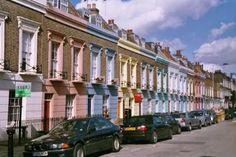 A Camden Town Street, London, England