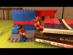 """Welcome to The Library"" - Stop Motion Duplo Movie by @clauersen"