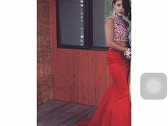 Items For Sale: Red two piece diamond top. http://ift.tt/1T2736Z