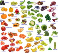 FRUIT & VEGETABLES vocabulary #learnenglish