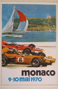 1970 Monte-Carlo Monaco Grand Prix Formula 1 by OutofCopenhagen