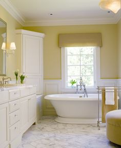 Soft Yellows With White Pretty Bathroom Colors The Ornament Of A - Pretty bathroom colors