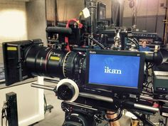 """Check out our D7 7"""" field monitor being used on set!"""