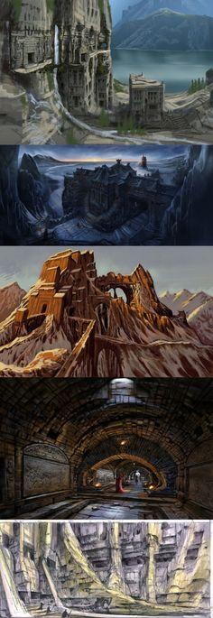 Skyrim - 5 concept art de Adam Adamowicz