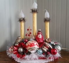 MEMORIES VINTAGE CHRISTMAS Decorated Candolier by Sparklingwren