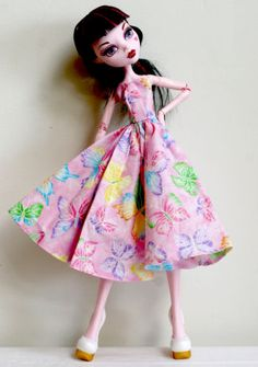 Handmade-Clothes-Fashion-Outfit-Dress-for-17-Monster-High-Doll-Gooliope-ooak