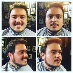 Mais uma barba feita hoje ! Obrigado ao amigo @taumaturgojoao e ao chefe Rui's pelo espaço ! 🎩💈🎩💈