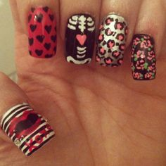 Cool nail ideas Wow! :) That's amazing...