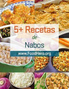 Recetas con nabos. Diferentes maneras de cocinar con nabos! Recetas de Food Hero con nabos, Food Hero- Recetas saludables que son rápidas, divertidas y sabrosas. Recetas saludables con nabos. Food Hero #nabos. Ahorre dinero. Las recetas de Food Hero son disponible en inglés y español . #recetas #recetasaludable. Receta con nabos de Food Hero. Recetas de queso que a los niños les encantará. Fried Rice, Fries, Recipies, Paleo, Gluten, Healthy Recipes, Ethnic Recipes, Food, Gastronomia