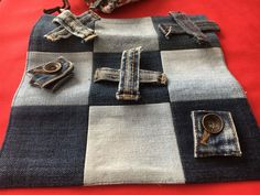 Annons på Tradera: Luffarschack av gamla jeans