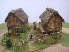 WW2 Japanese Huts *not mine*