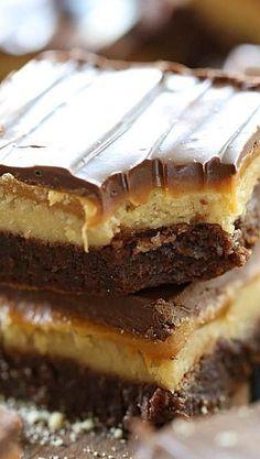 Twix Truffle Brownies #dessert #recipe