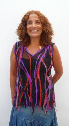 Julia Rossi: Fieltro curso Dagmar Binder VI