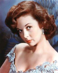 susan hayward, actress.  My mother looked so much like her!  She was beautiful!
