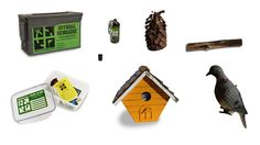 Different types of geocaches
