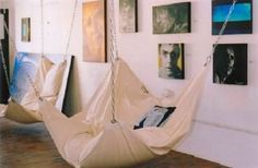 Le Beanock is a UK designed and built bean bag hammock chair that will eventually find its way into our own personal homes. Bean Bag Hammock, Hammock Chair, Bedroom Hammock, Bean Bag Bed, Hammock Swing, Diy Beanbag Chair, Chair Cushions, Bean Bag Room, Home Organization