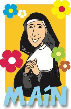 Madre Mazzarello - Agustin de la Torre Zarazaga. Dibujos y diseño gráfico