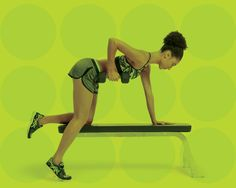 One-Dumbbell Workout For Total-Body Toning Sculpt lean muscle in every part of your body with this real-time workout One Dumbbell Workout, Abs Workout Video, Toning Workouts, Exercise Workouts, Fitness Tips, Fitness Motivation, Health Fitness, Women's Health, Health Tips