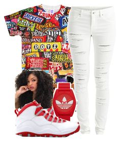 """""""Untitled #838"""" by chynaloggins ❤ liked on Polyvore featuring VILA, Retrò, adidas, women's clothing, women's fashion, women, female, woman, misses and juniors"""