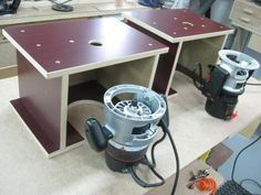 120-- Mini Portable Router Table