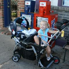 Elite Sit n Stand Double Baby Stroller - I want the kids to be ...