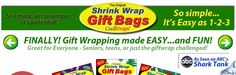Shrink Wraps for gifts